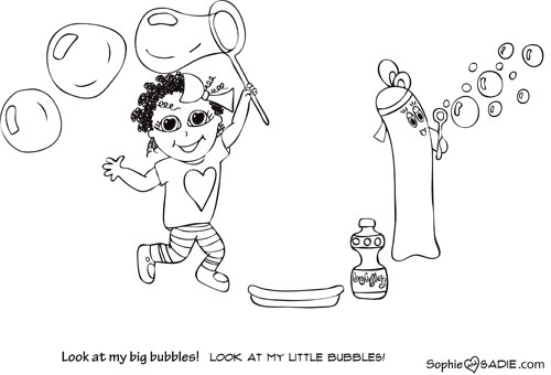 Blowing Bubbles Drawing Blowing Bubbles | Sophie And