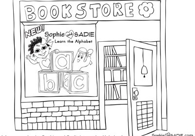 Uncategorized Sophie And Sadie Store Coloring Pages